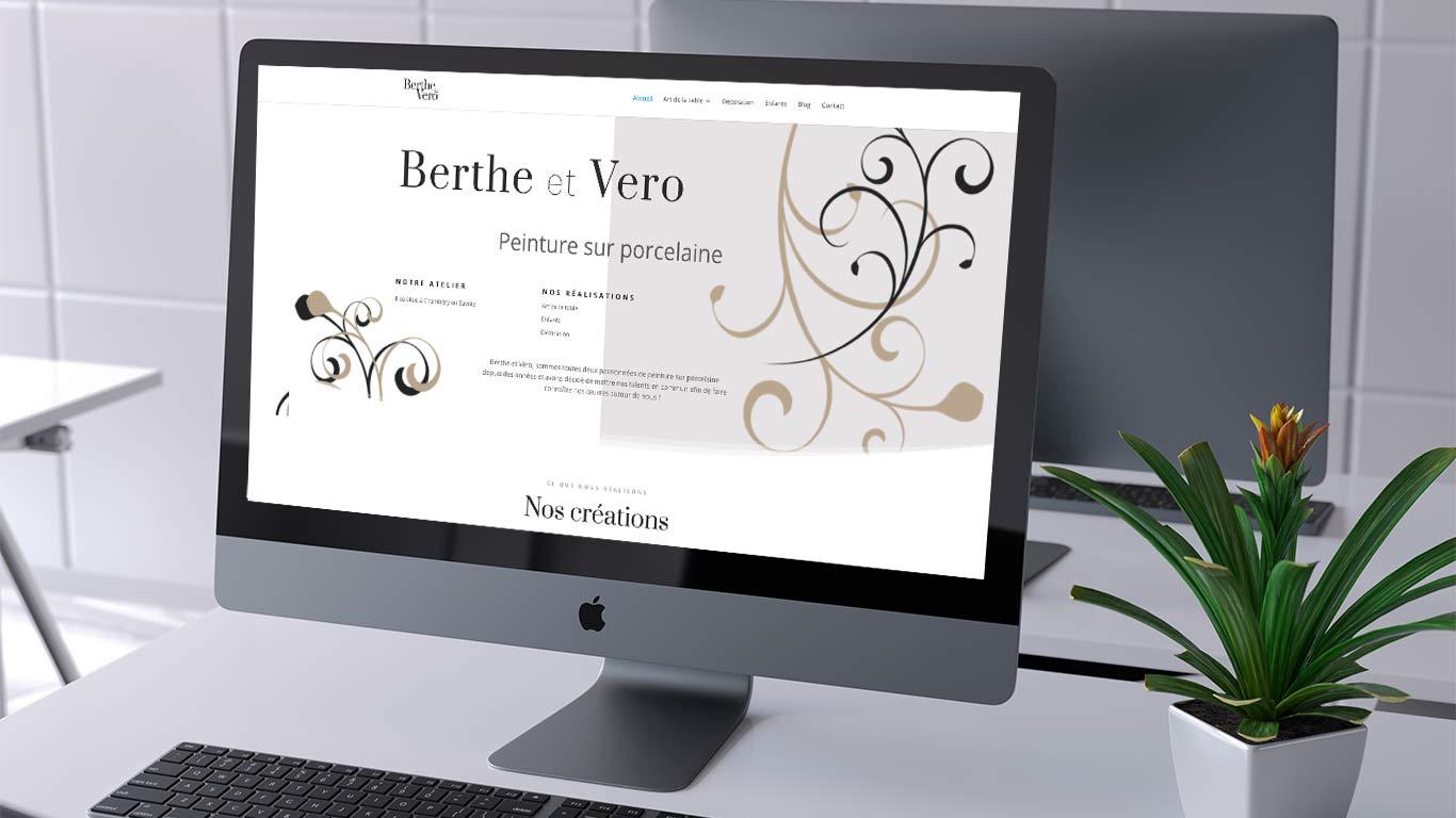 Berthe- et vero - porcelaine sur Chambéry